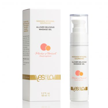 YesForLov Allover Delicious Massage Gel Peach Apricot